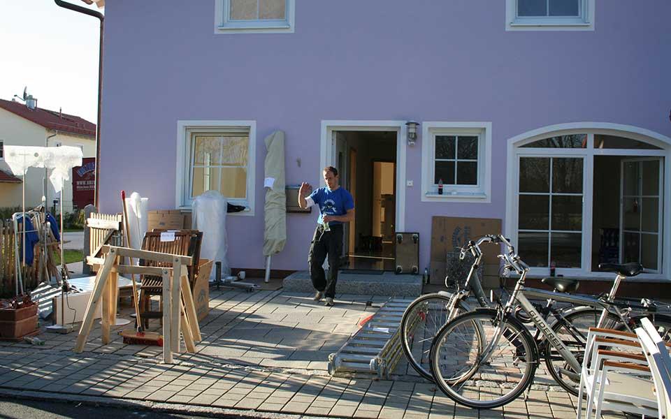 Umzugshelfer bei Wohnungsauflösung in München